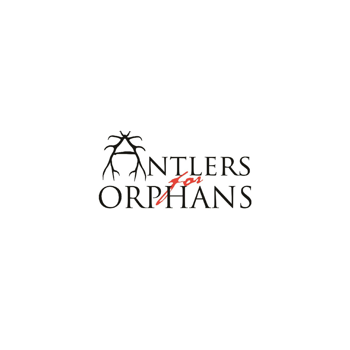 Antlers for Orphans logo