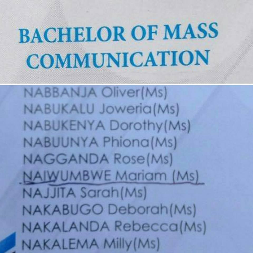 mass communication degree
